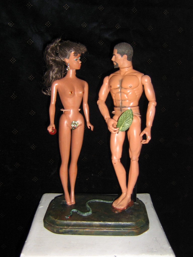 Adam and Eve Barbie