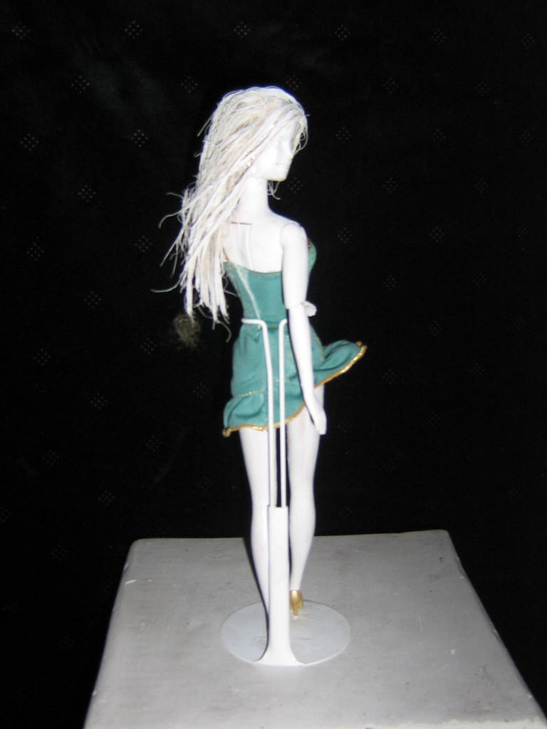 Lot's Wife Barbie (looking back)